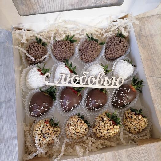 Клубника в шоколаде классическая