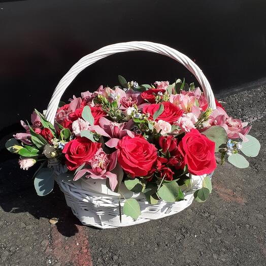 Корзина с цветами (Екатерина )