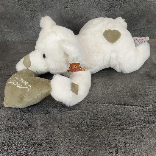 Влюбленный медвежонок
