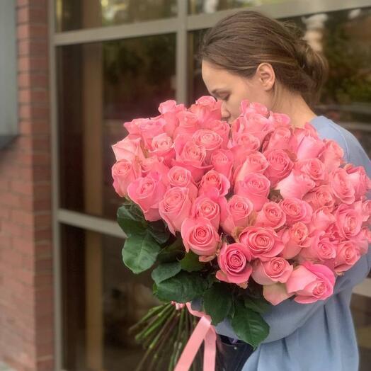 Букет из роз сорт эрмоса