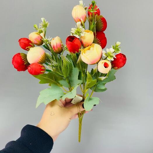 Кустовые пионовидные цветы