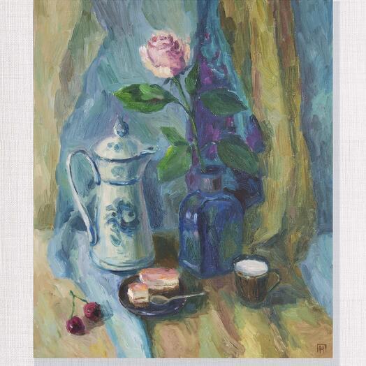 Чаепитие с розой