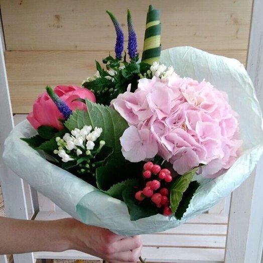 """Bouquet """"Platter-boom"""""""