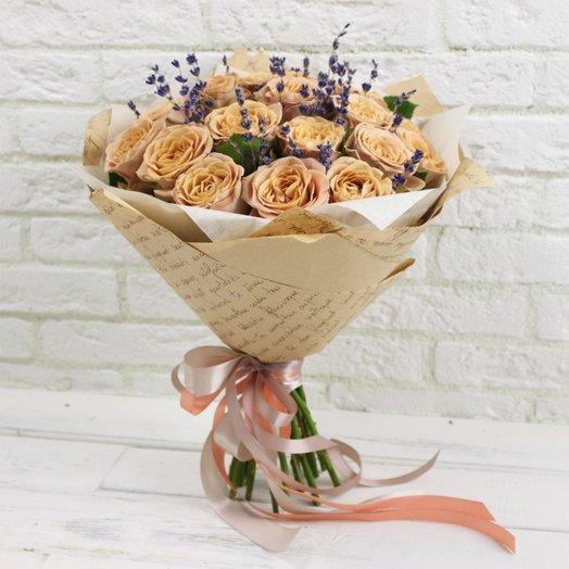 Крем- брюле: букеты цветов на заказ Flowwow