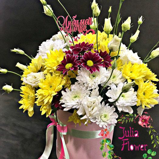 """Коробочка """"Анастасия"""": букеты цветов на заказ Flowwow"""