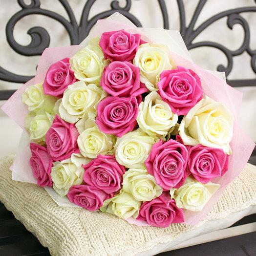 Букет Прелесть 25 шт 50 см: букеты цветов на заказ Flowwow