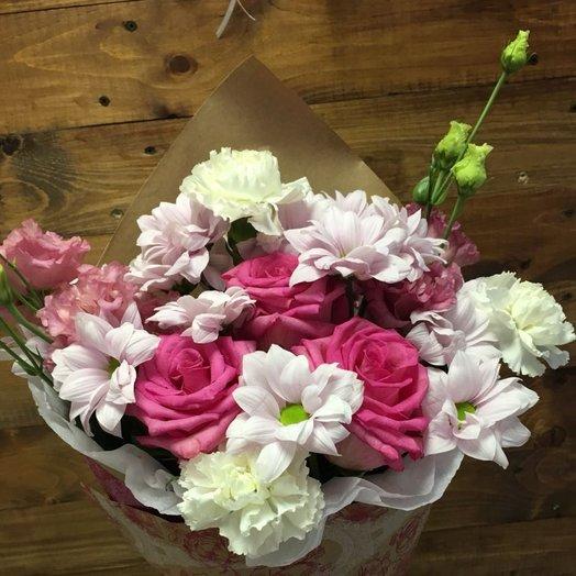 Малиновый букет: букеты цветов на заказ Flowwow