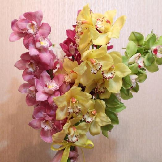 Цимбидиум: букеты цветов на заказ Flowwow
