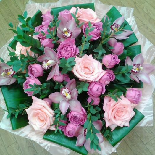Петербургская орхидея: букеты цветов на заказ Flowwow
