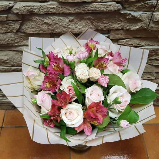 Ванильная нежность: букеты цветов на заказ Flowwow