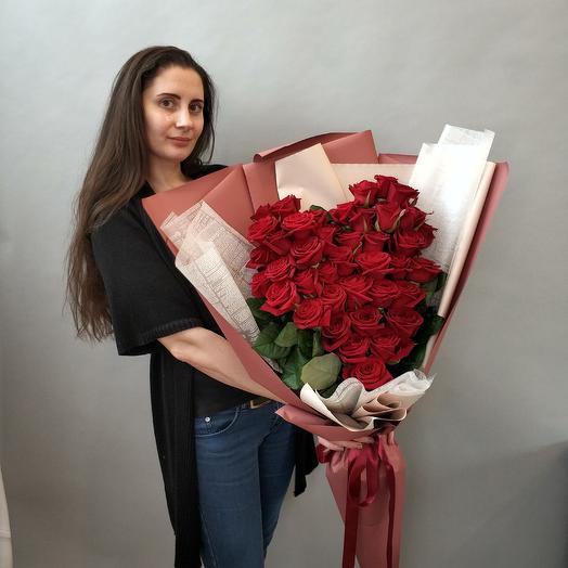 Сердце Гигант: букеты цветов на заказ Flowwow