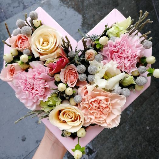 Сердце нежное: букеты цветов на заказ Flowwow