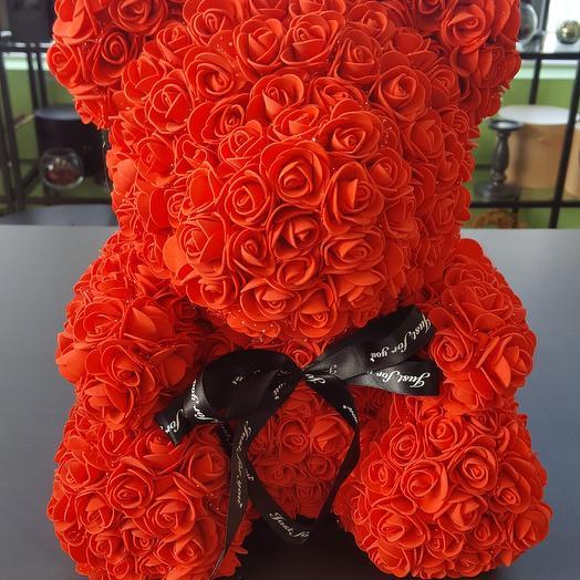 Медвежонок: букеты цветов на заказ Flowwow