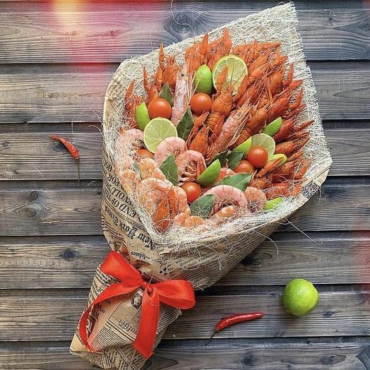 Букет ассорти  «Дары моря»: букеты цветов на заказ Flowwow