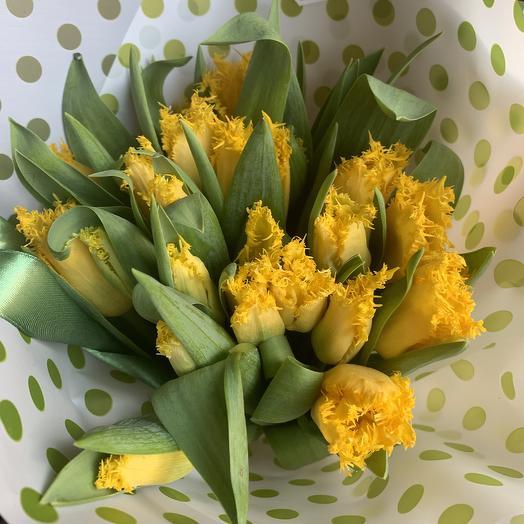 Желтенький красавец: букеты цветов на заказ Flowwow