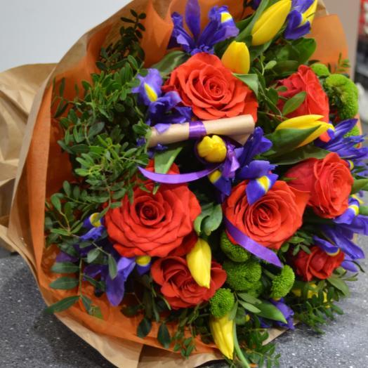 """Букет """"Бразильские мотивы"""": букеты цветов на заказ Flowwow"""