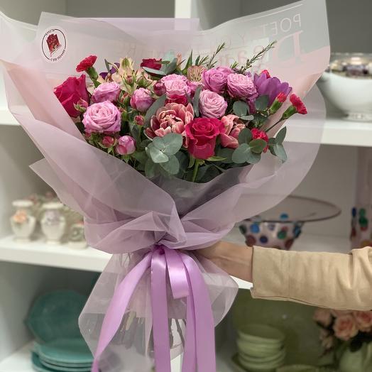 Сиреневый сон: букеты цветов на заказ Flowwow