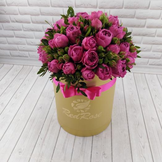 Коробочка Мисти: букеты цветов на заказ Flowwow
