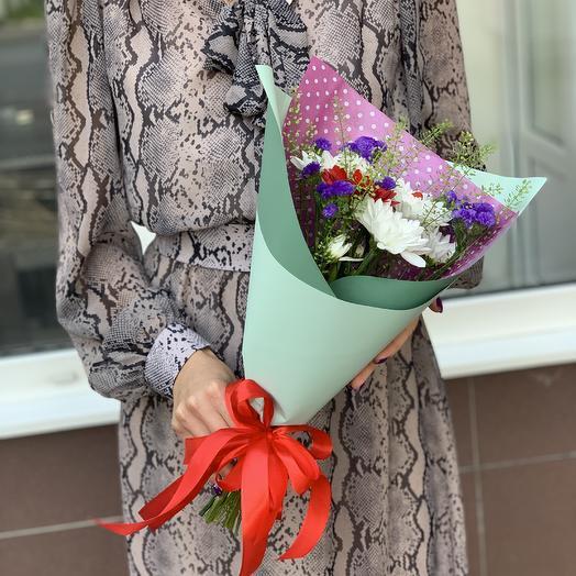Мини-букет: букеты цветов на заказ Flowwow
