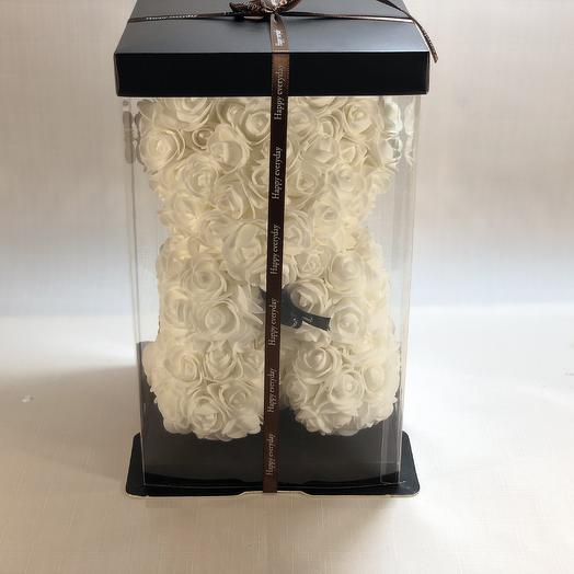 Мишка искусственный: букеты цветов на заказ Flowwow