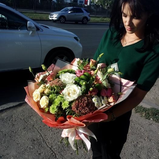 Букет Лайм: букеты цветов на заказ Flowwow