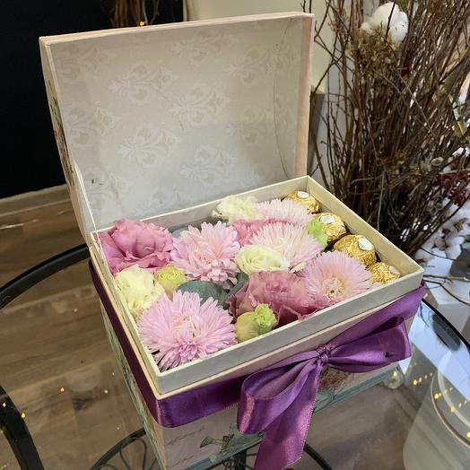 Сундук сокровищ: букеты цветов на заказ Flowwow
