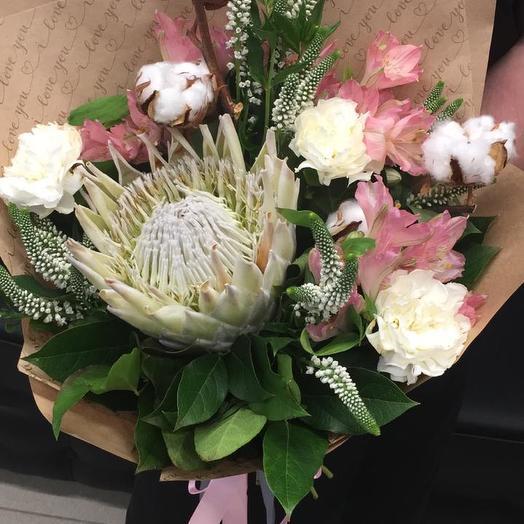 Нежное упоение: букеты цветов на заказ Flowwow