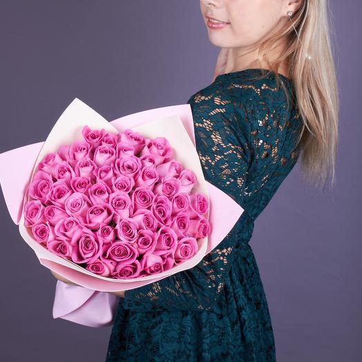 51 роз Аква