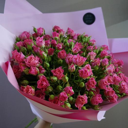 Полные кусты роз