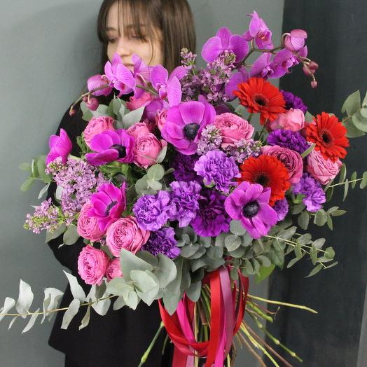 Mauve: букеты цветов на заказ Flowwow