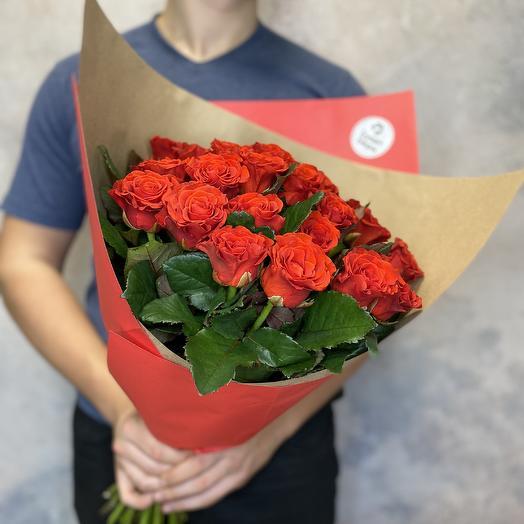 Розы Эльторо в экобумаге