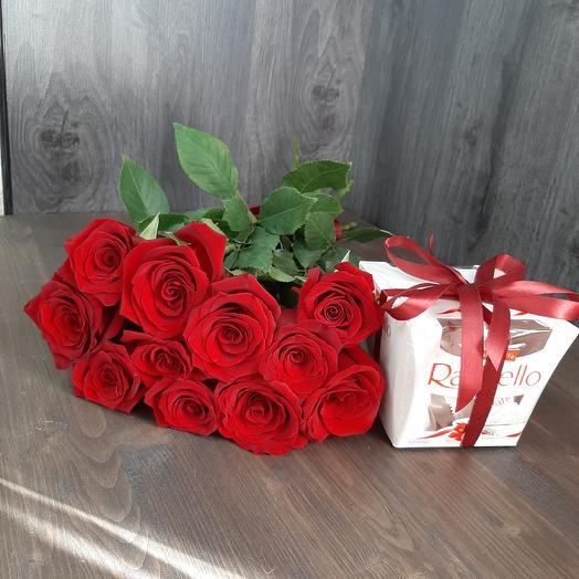 Набор Комплимент: букеты цветов на заказ Flowwow