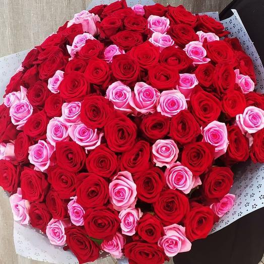 101 роза Вишневый торт