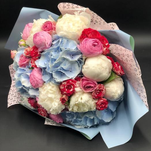 Букет «Романтик»: букеты цветов на заказ Flowwow
