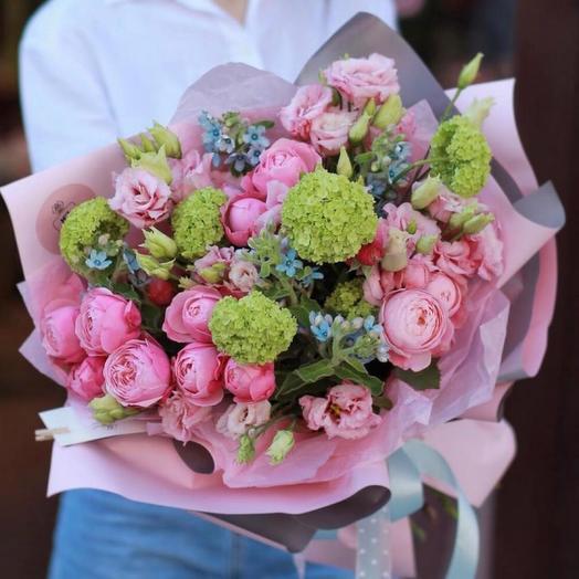 Красивый букет «Весенний ветерок»
