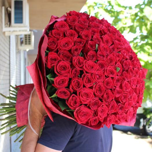 """Букет """"Мечта"""" из 101 розы"""