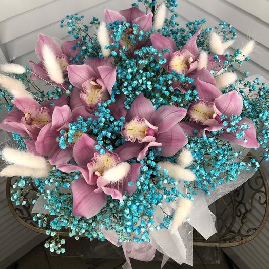 Коробка из орхидей
