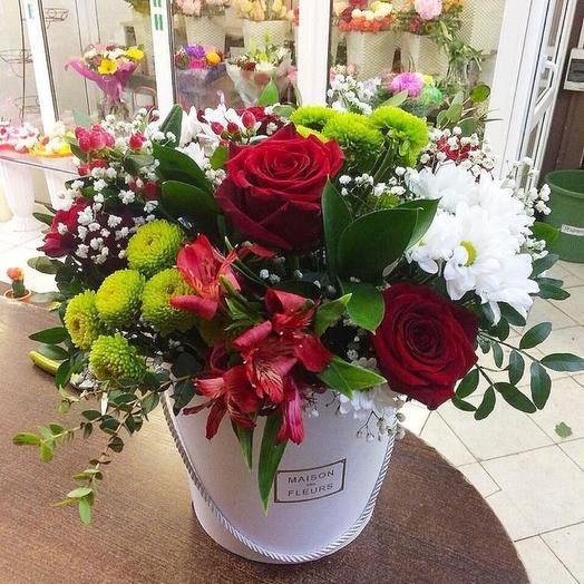 1 сентября , « Здравствуй школа »! Цветы в коробке