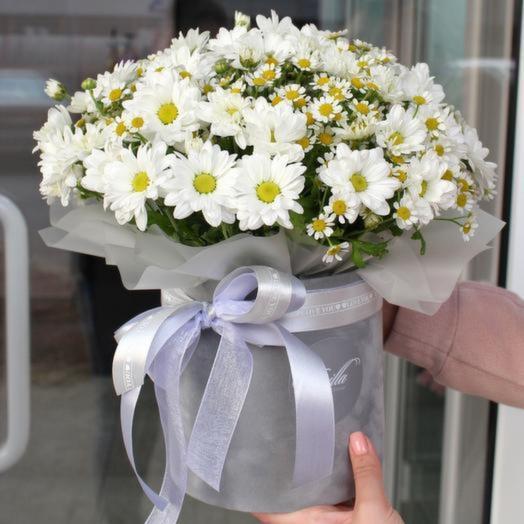 Цветы в коробке «Милая моя»