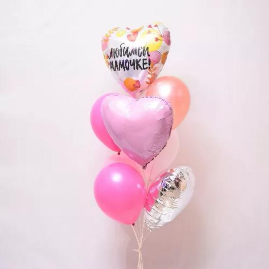 Set of helium balloons for Mom