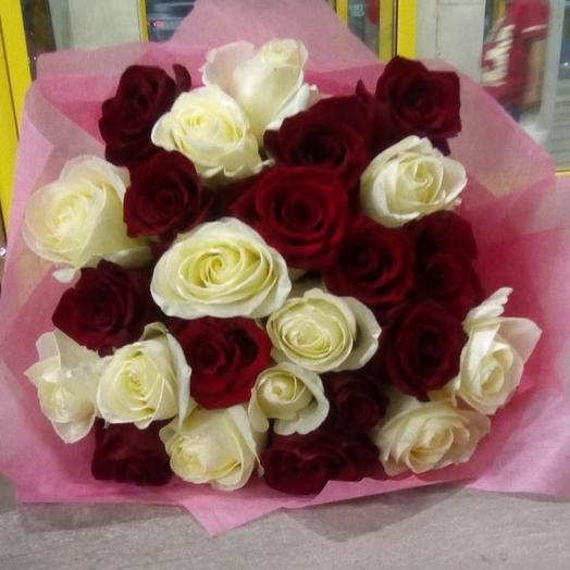 """Букет 25 роз """"Мия"""""""
