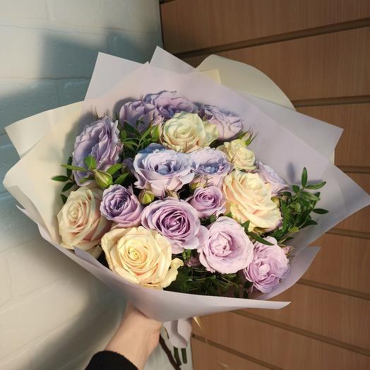 Невероятный букет ароматных роз