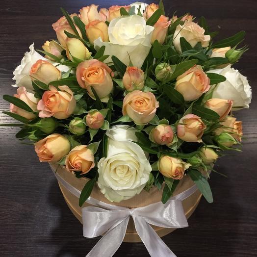 Цветы в коробке 007880