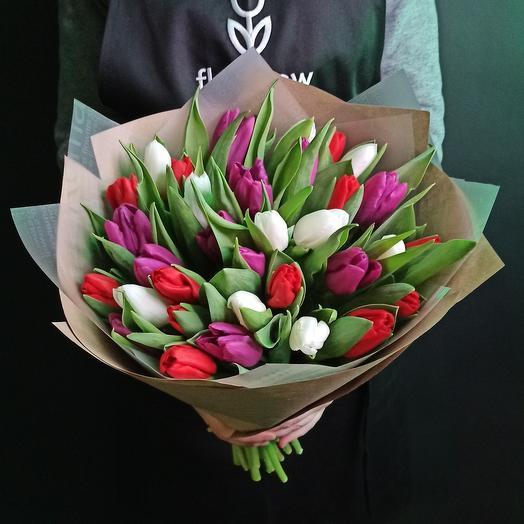 33 тюльпан микс