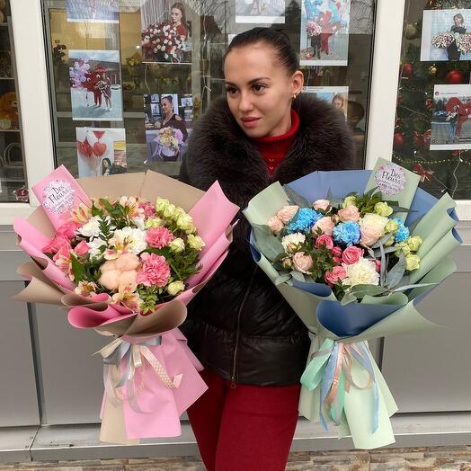 "Букет сборный""Ля Флёр"""