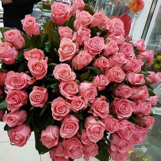 2д 59 роз под ленту