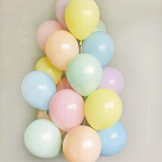 Сет из воздушных шаров «Макарон»
