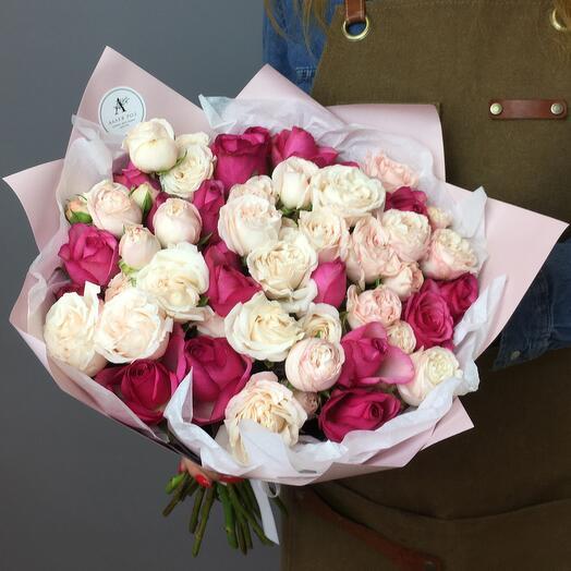 Букет из 29 роз