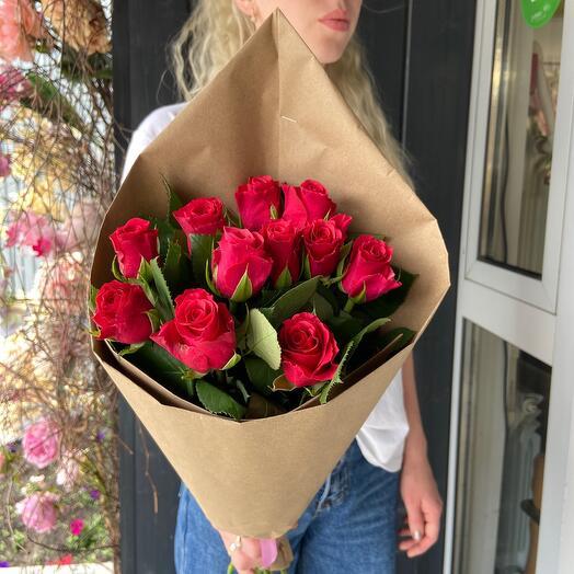 Конверт «Малиновые розы»
