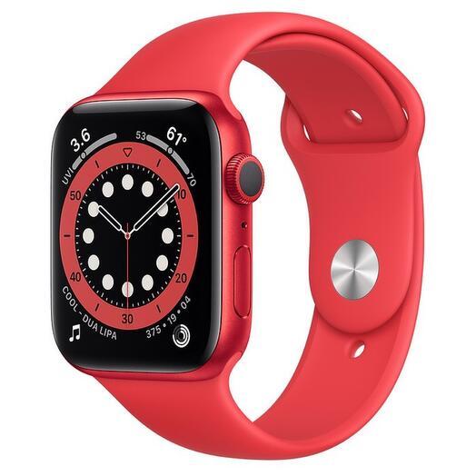 Apple Watch Series 6 GPS 44mm Aluminum - красный